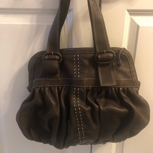 Cole Haan leather bag -like new